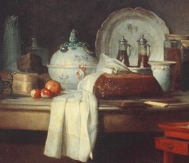 Folds, Flesh, and Fruit - The Touch of Grace in Paintings of Chardin and Boucher