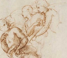 Behind the Surface of Raphael's Drawings