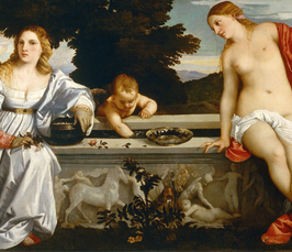 Looking Awry at Titian's Sacred and Profane Love